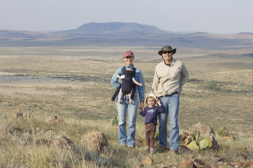 Jonah, Ciel, Stella, and Phoebe in Alpine, TX in 2013