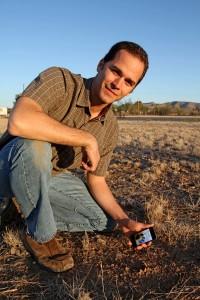 Jonah Demonstrating the iTrack Wildlife App