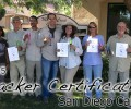 San Diego Tracker Certification 10/22/2015