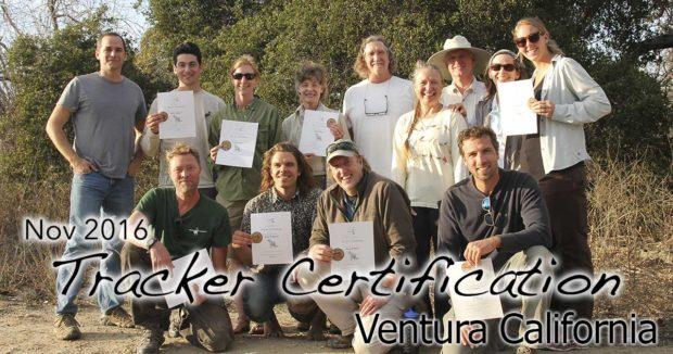 Ventura Tracker Certification 11/6/2016