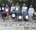 San Diego CA Specialist Certification 11/12/2020