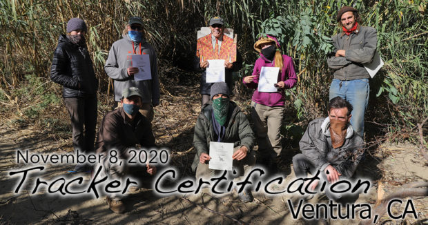 Ventura Tracker Certification 11/8/2020